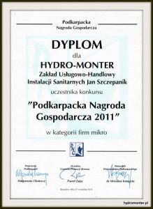 Podkarpacka Nagroda Gospodarcza 2011